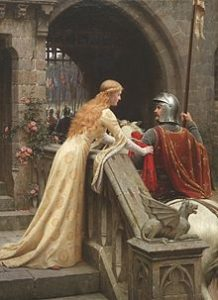 """God Speed!"" by Edmund Blair Leighton (public domain)"